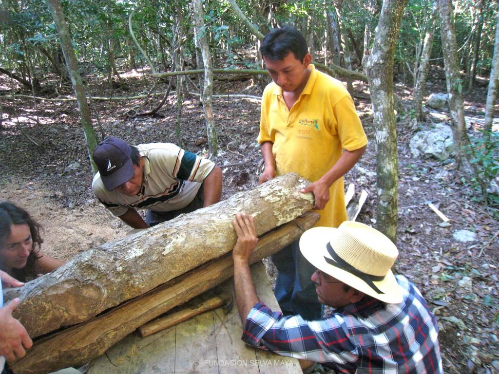 Martín con JM y JdD abriendo un jobon