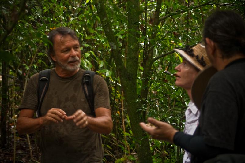 Manuel con Louise y Steve